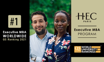 The HEC Paris EMBA program topped the charts in this year's EMBA rankings.