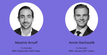 HEC Paris MBA students Maxime Arnulf and Armin Rachwalik founded the EPV Circle.