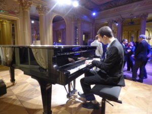 Pianist at the Italian Cultural Center