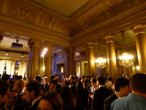 Networking at the Italian Cultural Center