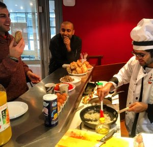 3 MBA students at HEC Paris created Our Kitchen, to connect home cooks with hungry students. Varad cooks up a taste of his home cuisine for his peers