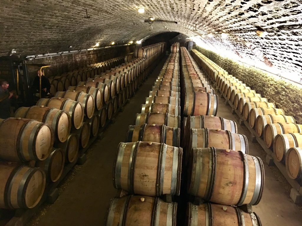 Events included a private tour of the Domaine Faiveley wine cellars with owner and CEO Erwan Faiveley, whose family founded the business in 1825.