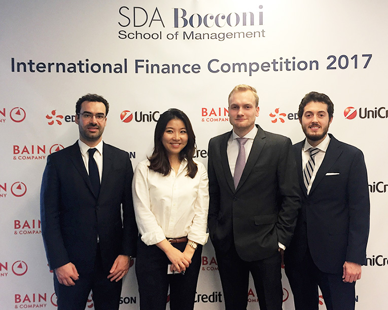 International Finance Case Competition participants from HEC Paris MBA