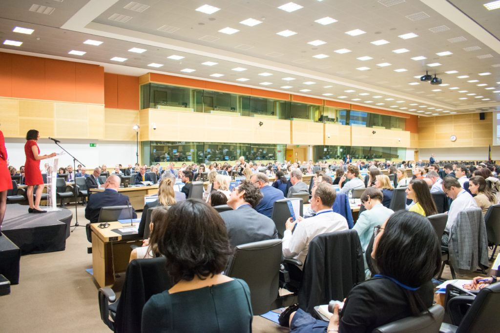 The 2-day summit featured prominent speakers from around the EU