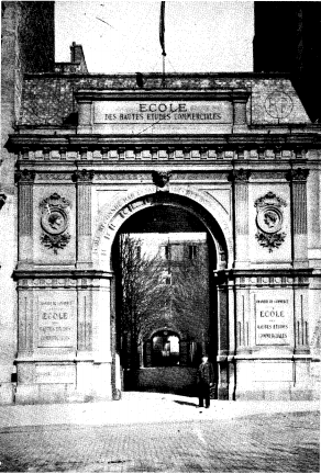 The original site of HEC Paris