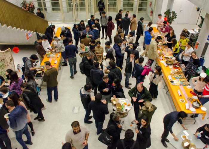 HEC Paris MBA food fair event