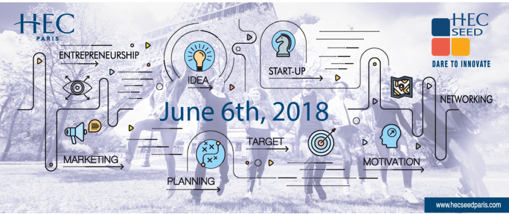 HEC SEED 2018 entrepreneurship summit