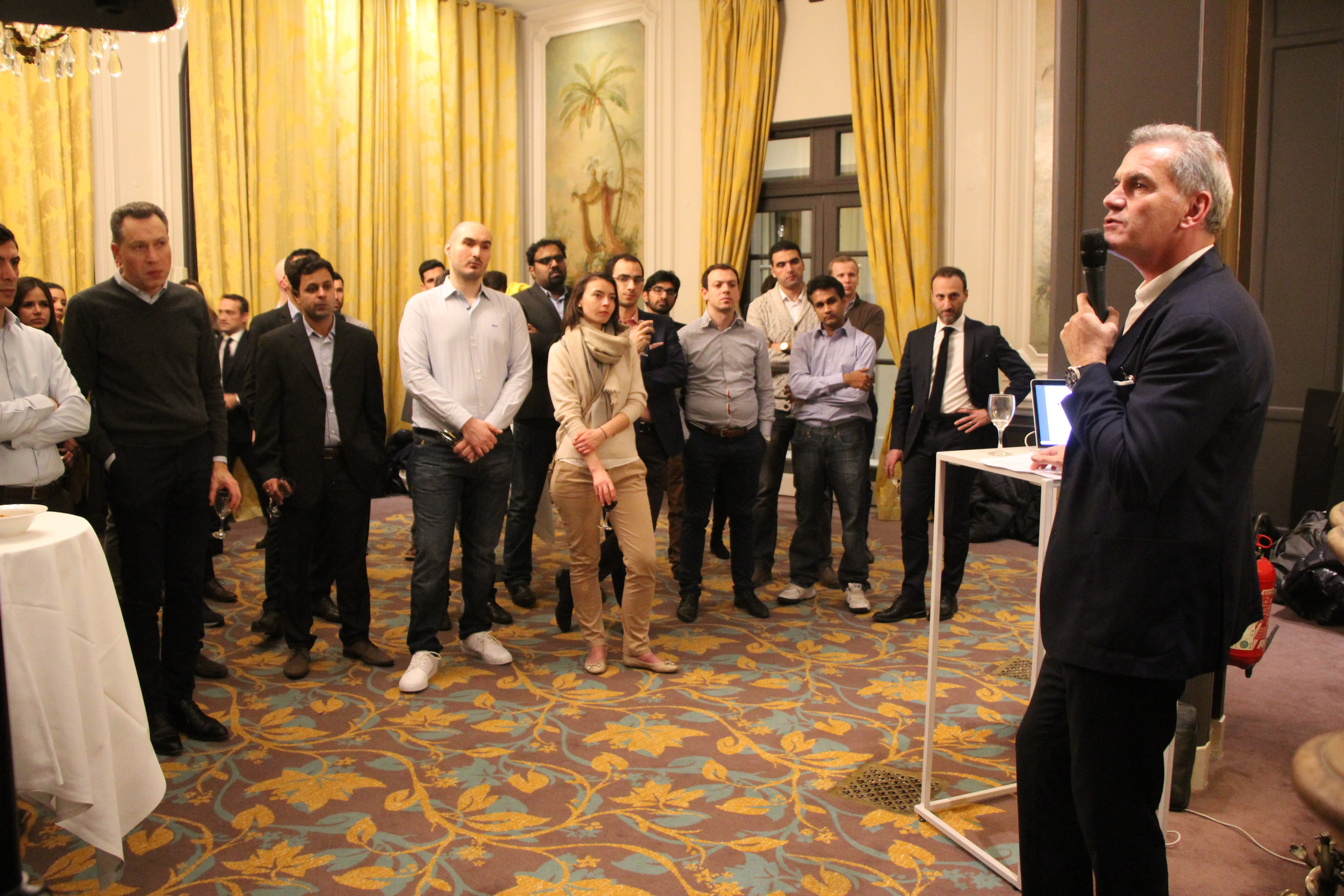 The First Global Afterwork Event - HEC Paris MBA News