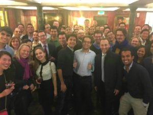 The HEC Paris Global MBA Afterworks with Dean Masini