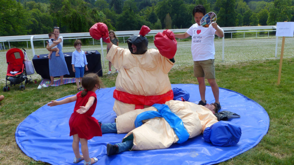 Sumo Wrestling during HEC Paris alumni reunion