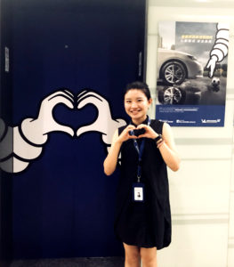 Anan Zhang is an MBA student that interns at Michelin