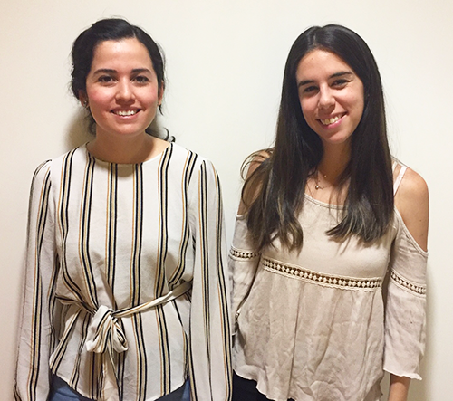 MBA students Manuela Mesa and Natalia Navarro organized the conference