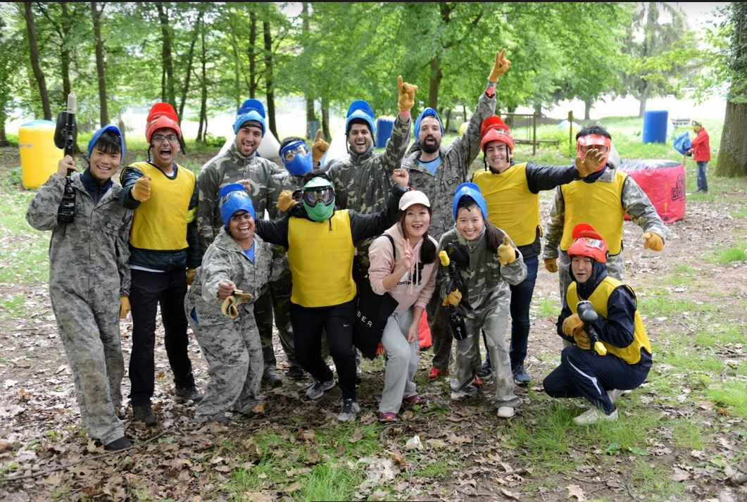 Paintball was a new addition to the 2019 MBAT
