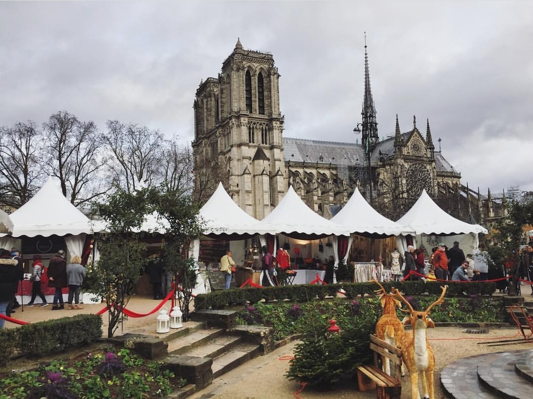 Christmas Market at Notre Dame
