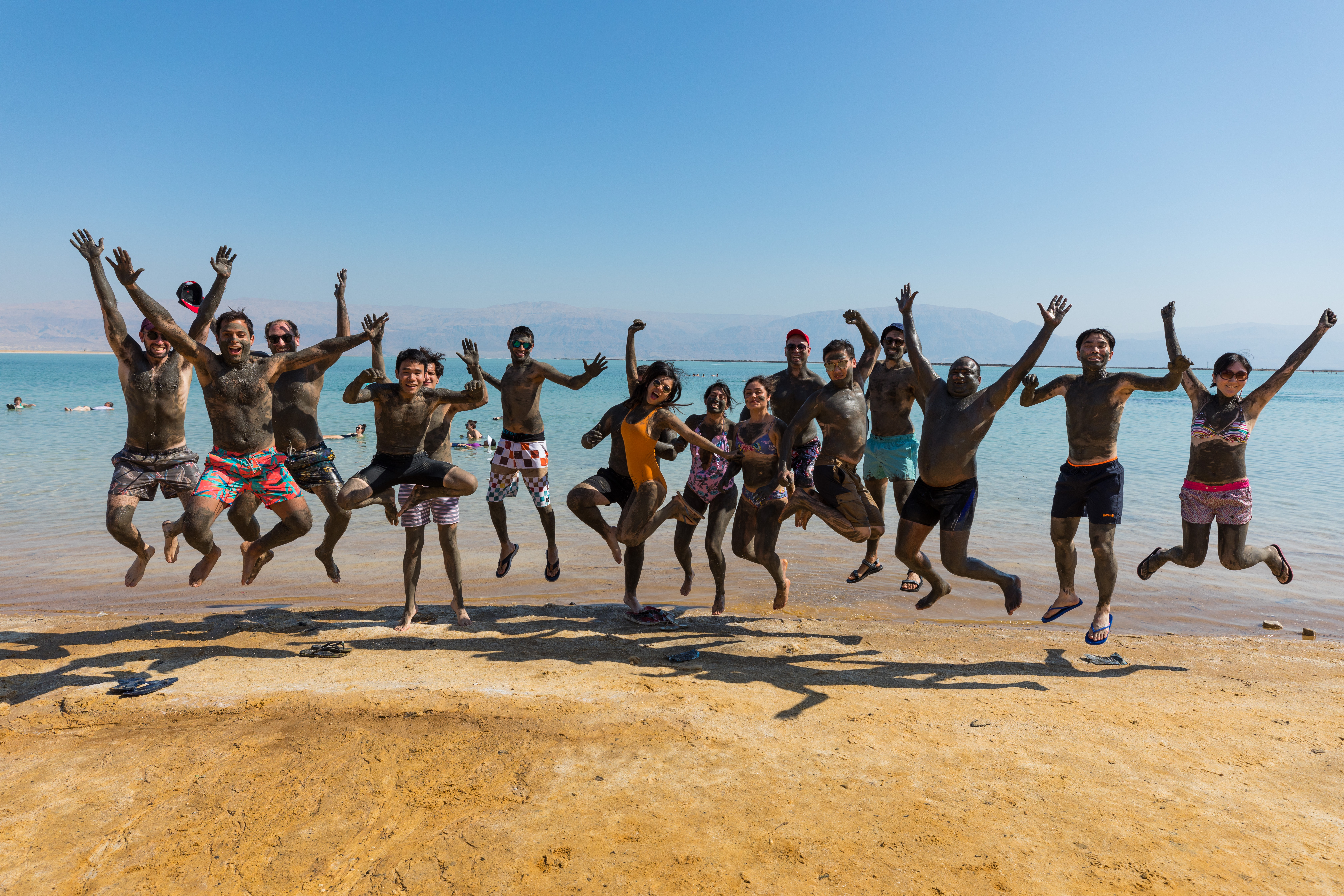 Reaping health benefits at the Dead Sea