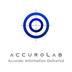 The logo of Accurolab, designed to stop the spread of misinformation in Africa
