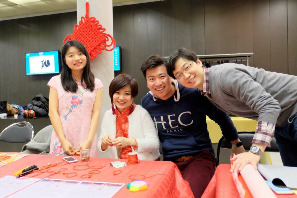Chinese MBA students organized a Culture Week to share food, customs and music with the HEC Paris Community