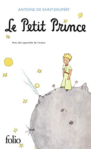 Book cover of 'Le Petit Prince'