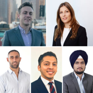 Beyond Distruption includes MBA consulting students Helena, Gagandeep, Zack, Khaled and Arnow