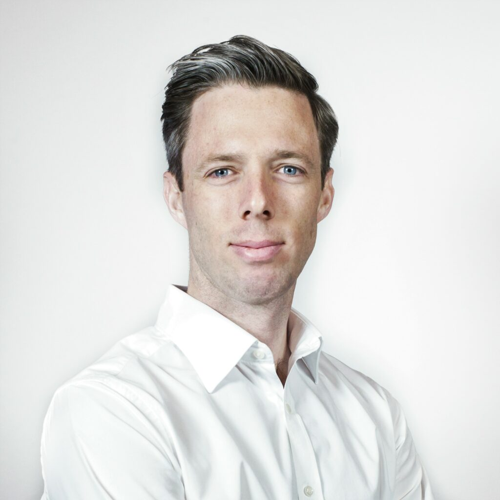 Headshot of the winner of the wine case competition, Lewis Anderson