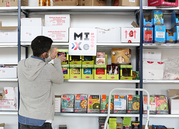 Stocking the shelves of Mixte.store