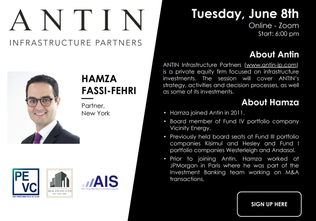 On June 8, we had the pleasure of welcoming Antin for a presentation