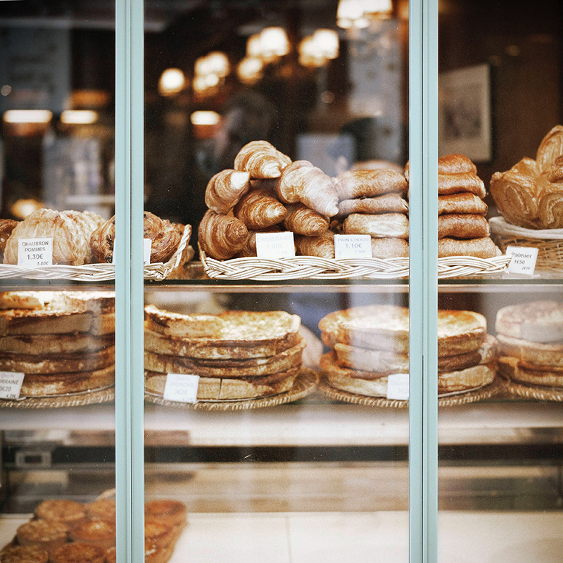 Bakeries are in nearly every town in France